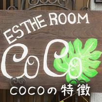 COCOの特徴